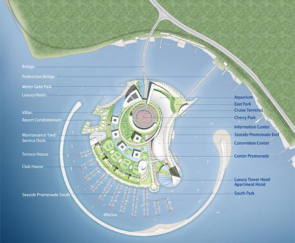 План острова