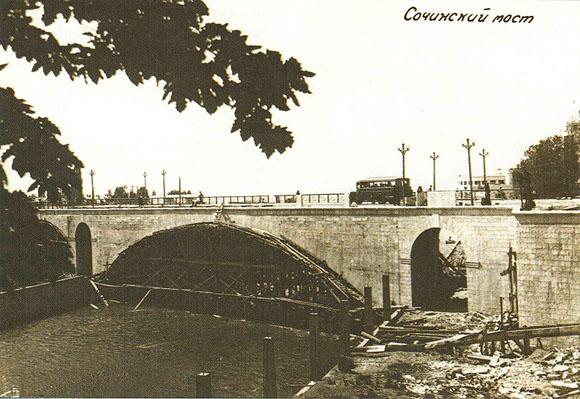 Ривьерский мост через реку Сочи