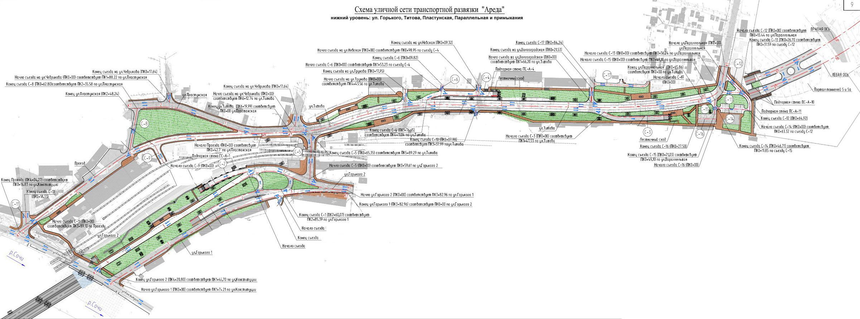 Ввод дублёра курортного проспекта кардинально меняет схемы.