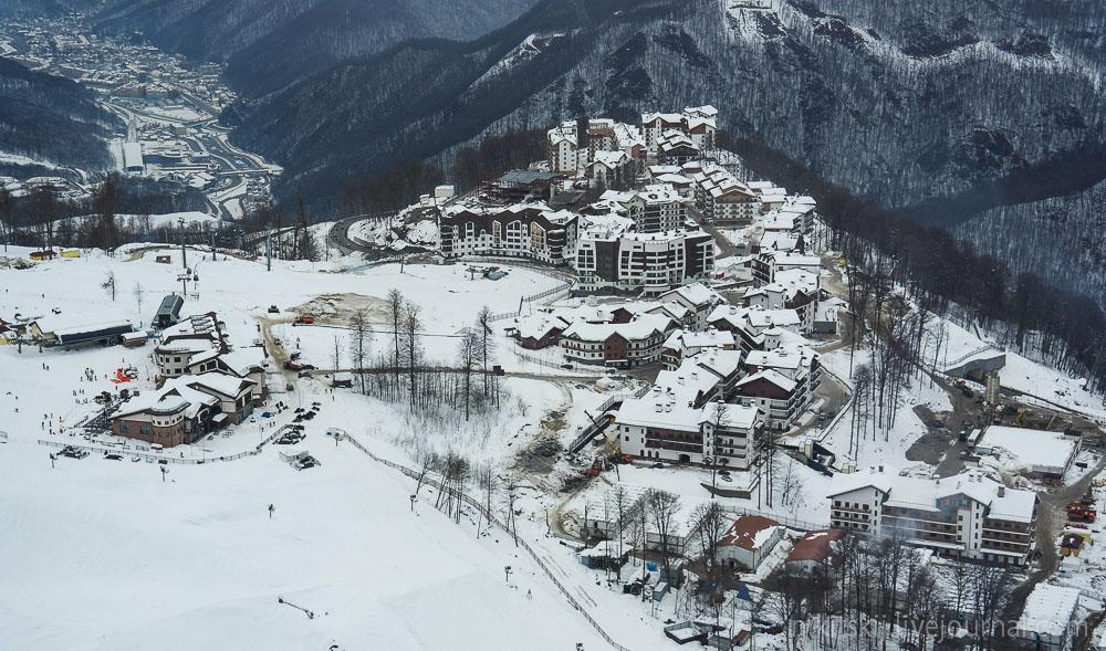 сочи олимпийская деревня красная поляна фото