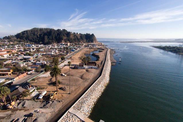 Post-Tsunami Sustainable Reconstruction Plan of Constitución, 2010 - ongoing, Constitución, Chile. Image: Felipe Diaz