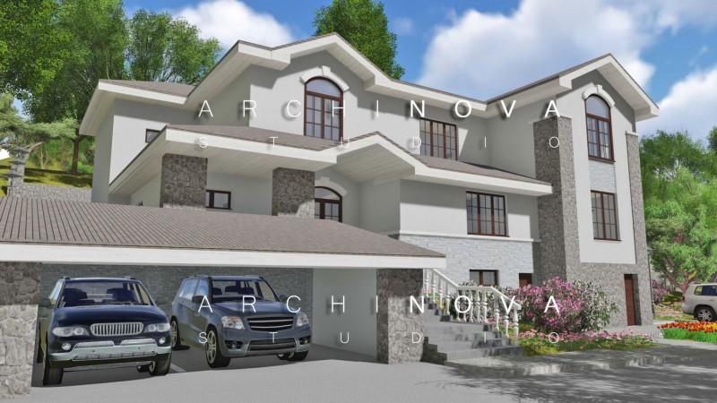 Индивидуальный жилой дом в г. Сочи