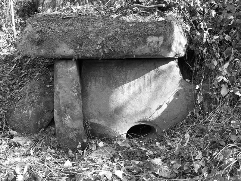 Дольмен в Свирском ущелье