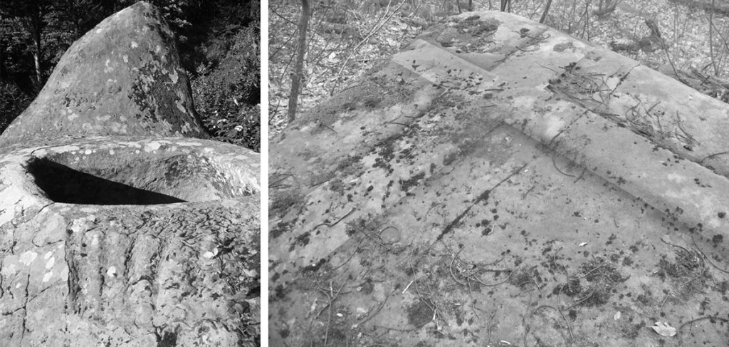 Барельефы дольменов близ посёлка Татьяновка и в Виноградном ущелье