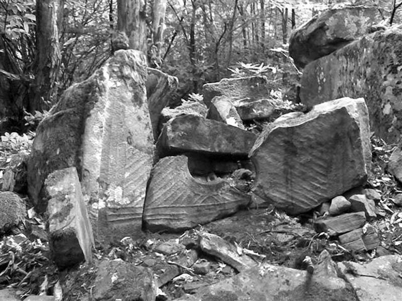 Дольмен найденный археологом Бианки А.М.