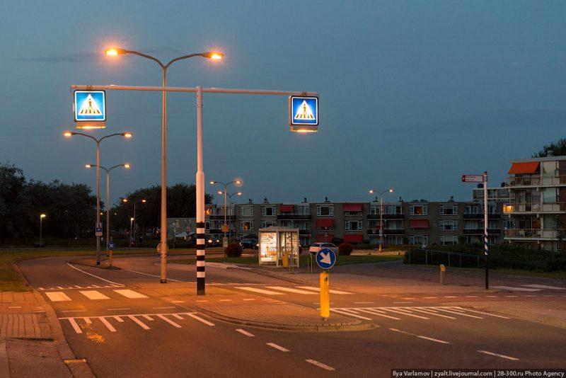 Наземный переход по принципам пешеходности в Гааге
