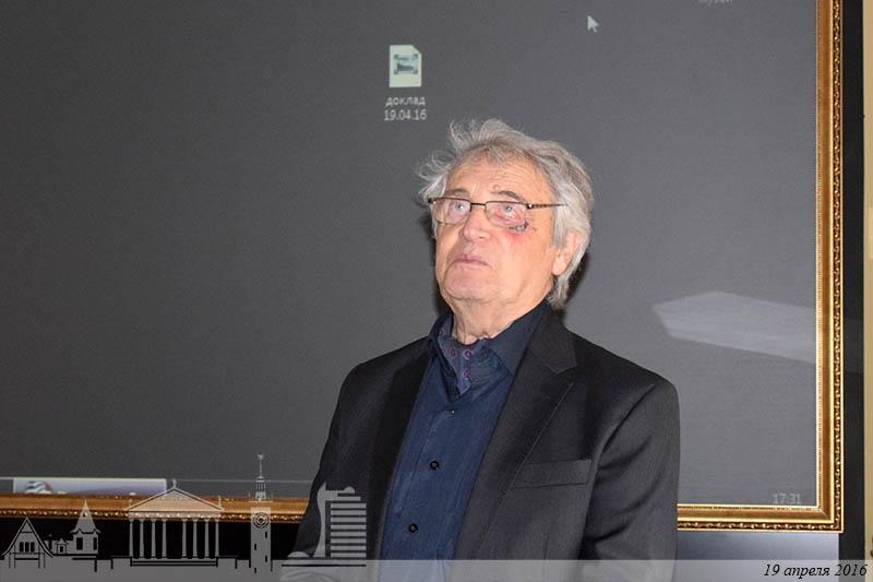 архитектор Юрий Платонов