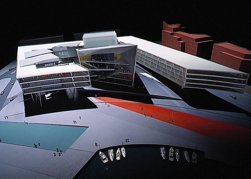 Проект здания Оперного театра в заливе Кардиффа, Великобританияhttp://blogs.artinfo.com/