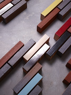 Linear bricks in Glazed & Dry Pressed Collections