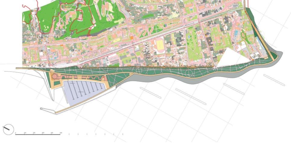 Предложение по размещению марины как развитие ТПУ «Лазаревское» в комплексном решении по реконструкции набережной