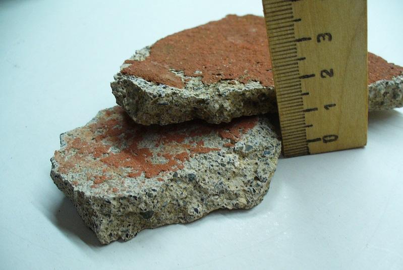 Рис. 1. Обнаруженные фрагменты цемянки