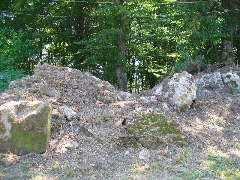 Рис. 4. Посёлок Абазинка – останки средневекового сооружения