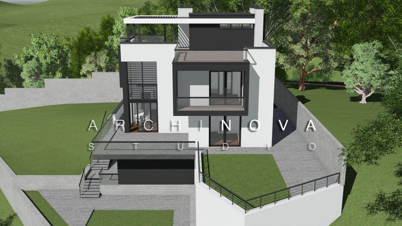 минимализм, проект, архитектор, сочи, коттедж