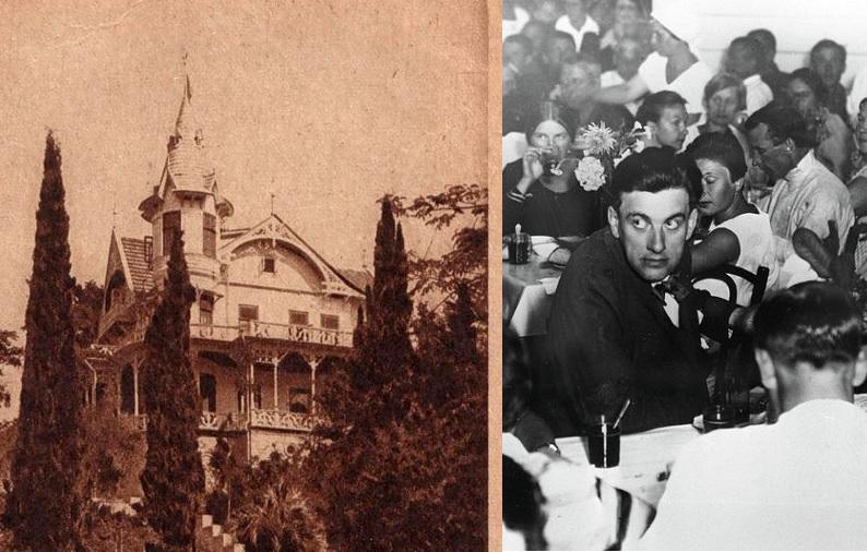 Маяковский на даче Якобсона в Сочи