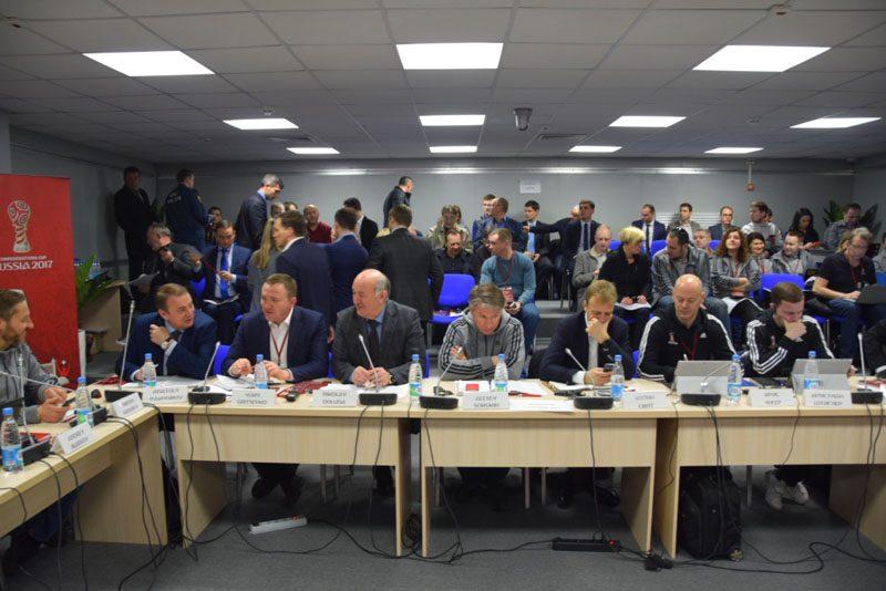 Комиссия FIFA осталась удовлетворена готовностью стадионов вРФ кпроведению Кубка Конфедераций